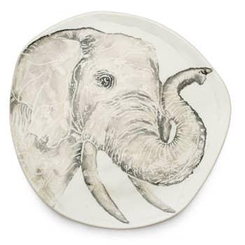 Platter Elephant