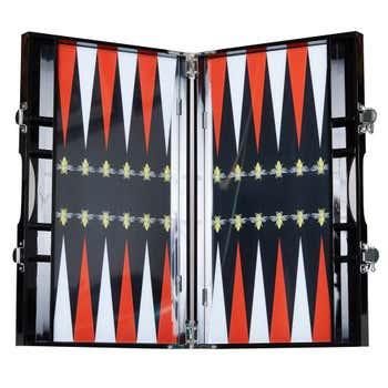 Backgammon set - Red Bee