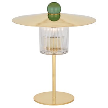 Ball On Top Table Lamp