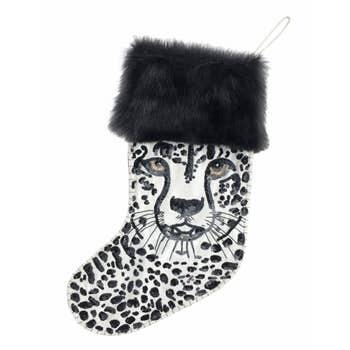 Cheetah Sequin Stocking