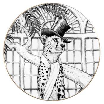 Charlie Cheetah Plate