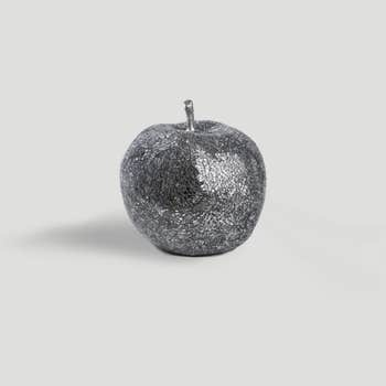 Mirrored Apple Sculpture