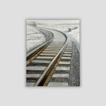 Tracks Wall Art