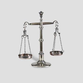 Alchemist Scales Sculpture