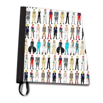 David Bowie A4 Notebook