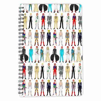 David Bowie A5 Notebook