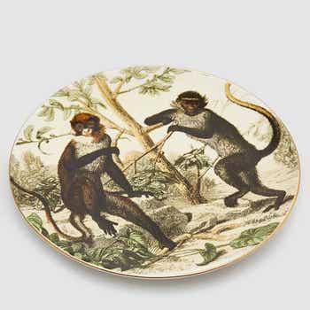 Decorative Monkey Plate