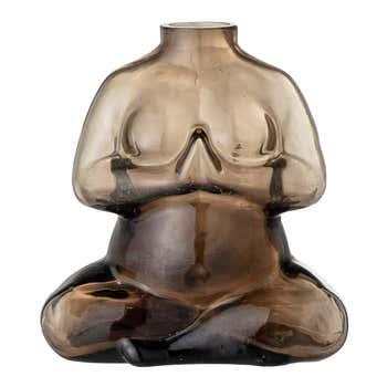 Elze Glass Woman Body Vase
