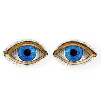 Eye Trinket Tray Set of 2