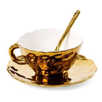 Fingers Porcelain Teacup