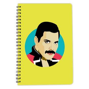 Freddie Mercury A5 Notebook
