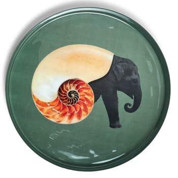 Shellephant Round Tray