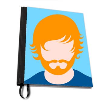 Ginger Ed A4 Notebook