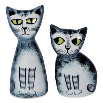 Cat Salt & Pepper Shakers