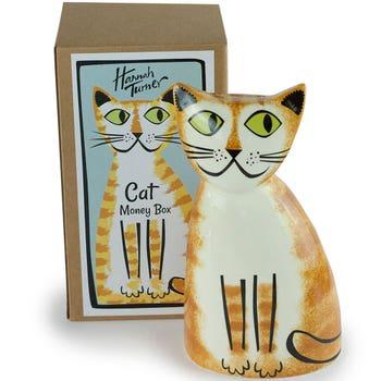 Ginger Cat Money Box