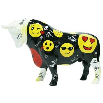 Bull Sculpture So Emoji