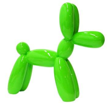 Balloon Dog Sculpture Neon 2