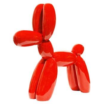 Balloon Dog Sculpture Red