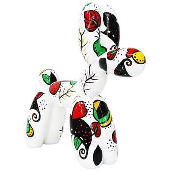 Balloon Dog Sculpture Folk Art