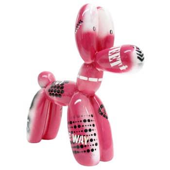 Balloon Dog Sculpture Retro