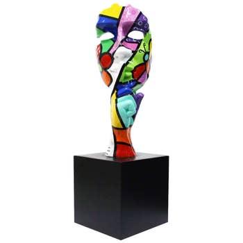 Silence Face Sculpture Arti