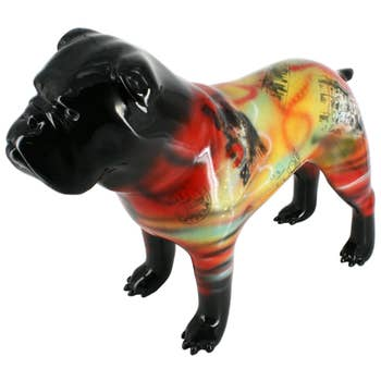 Bulldog Sculpture Madrid
