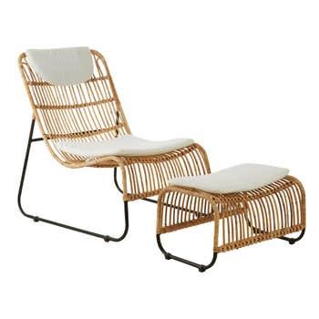 Sawa Lounge Chair & Footstool