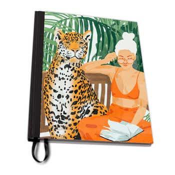 Jungle Vacay II A4 Notebook