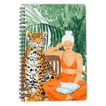 Jungle Vacay II A5 Notebook