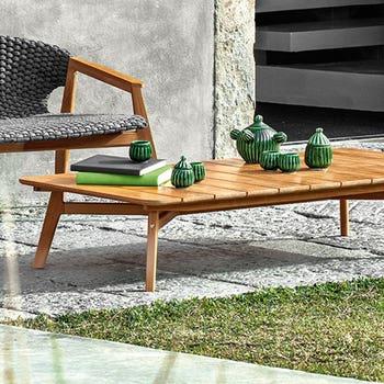 Knit Rectangular Coffee Table