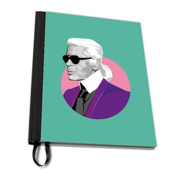 Karl Lagerfeld A4 Notebook