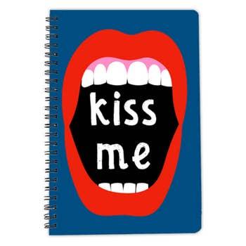 Kiss Me A5 Notebook