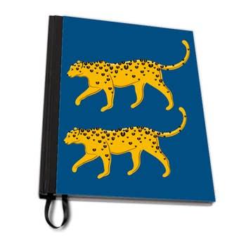 Leopard Pair A4 Notebook