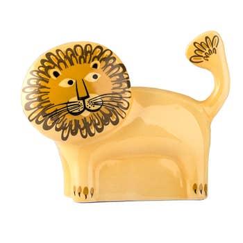 Handmade Lion Money Box