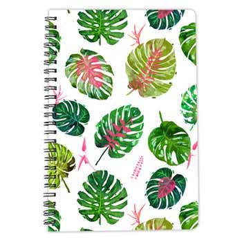 Monstera Love II A5 Notebook