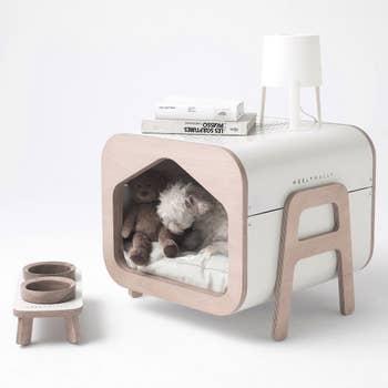 Oslo White Pet House