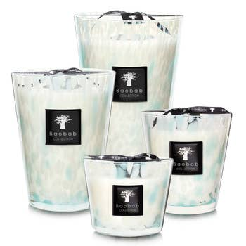 Pearls Sapphire Baobab Candle