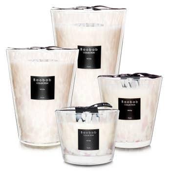 Pearls White Baobab Candle