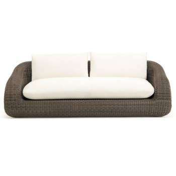Phorma Sofa with Grey Cushions