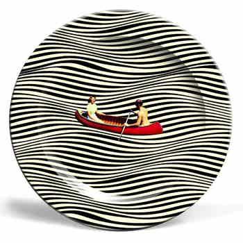 Illusionary Boat Ride Plate