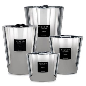 Platinum Scented Baobab Candle