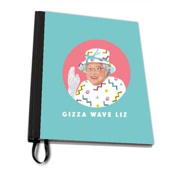Queen Elizabeth A4 Notebook