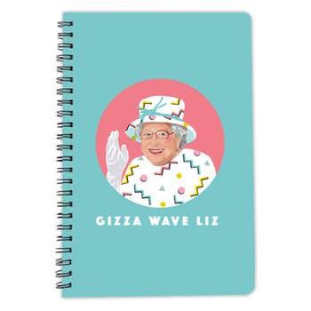 Queen Elizabeth A5 Notebook
