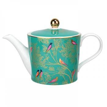 Green Birds Teapot