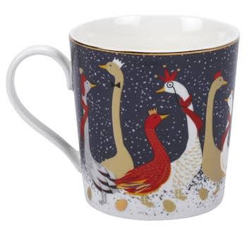 Geese Christmas Mug