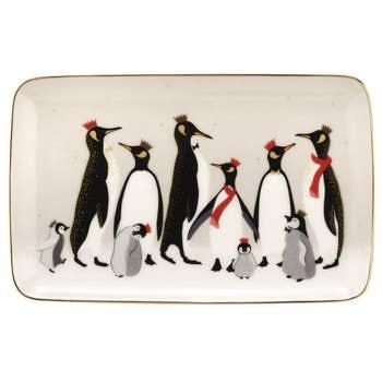 Penguin Christmas Tray