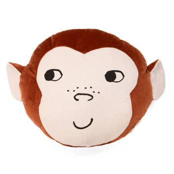Wild Animal Monkey Cushion