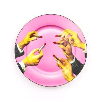 Porcelain Plate Lipsticks