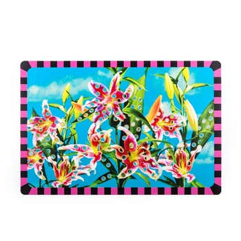 Flowers With Holes Placemat