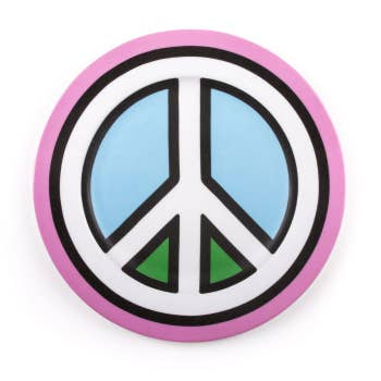 Porcelain Plate Peace